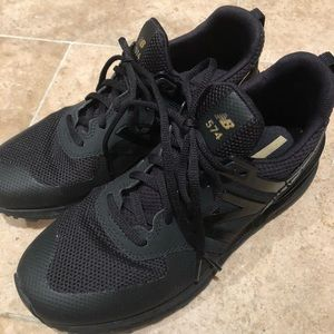 New Balance Shoes - New Balance 574 Black Sneakers